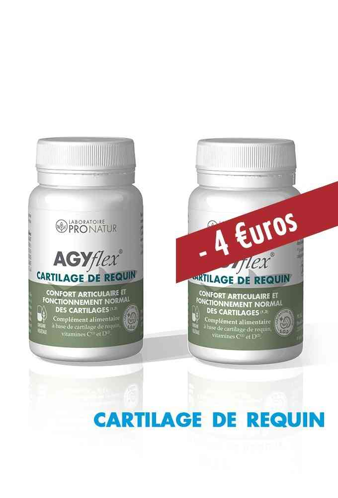 Lot de 2 AGYflex® CARTILAGE DE REQUIN