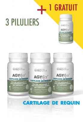 3 + 1 GRATUIT AGYflex® CARTILAGE DE REQUIN