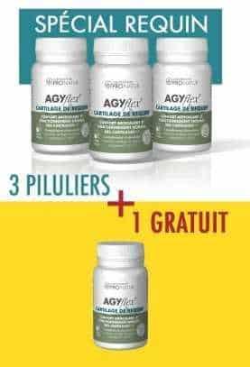 3 + 1 GRATUIT AGYflex® CARTILAGE DE REQUIN