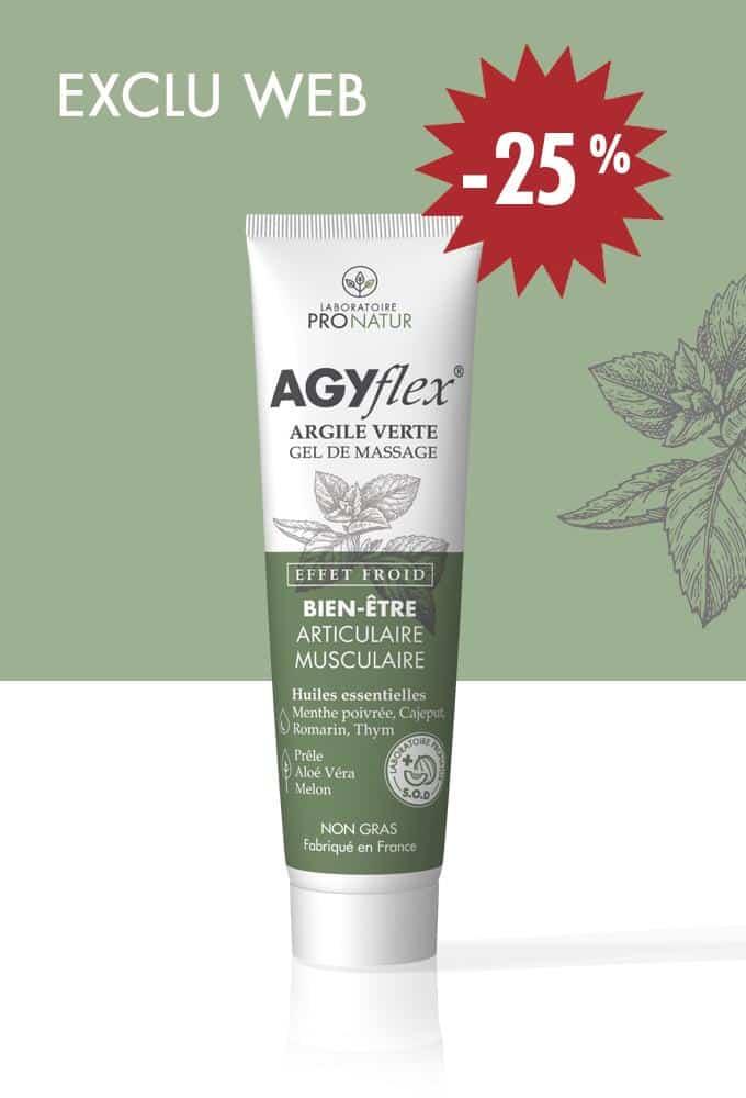1 tube AGYflex® ARGILE VERTE à -25%