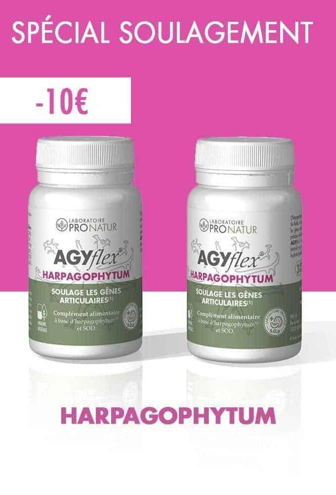 Lot de 2 AGYflex® HARPAGOPHYTUM en PROMO