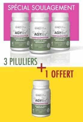 3 + 1 GRATUIT AGYflex® HARPAGOPHYTUM en PROMO