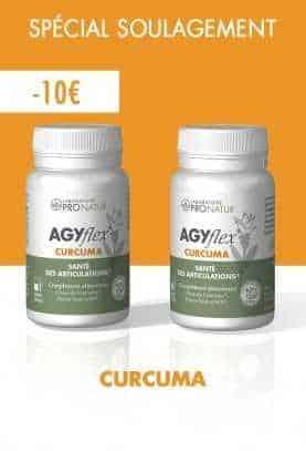 Lot de 2 AGYflex® CURCUMA en PROMO