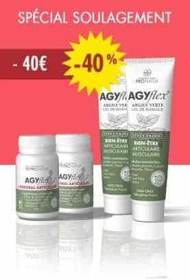 AGYflex® DUO ESSENTIEL 40 en PROMO