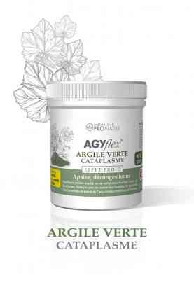 1 AGYflex® ARGILE VERTE Cataplasme OFFERT D'UNE VALEUR DE 18€ !