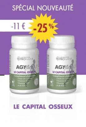 Lot de 2 AGYflex® LE CAPITAL OSSEUX en PROMO