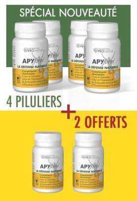 4 + 2 OFFERT APYform® LA DEFENSE NATURELLE en PROMO