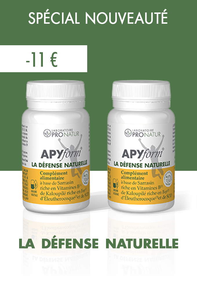Lot de 2 APYform® LA DEFENSE NATURELLE en PROMO