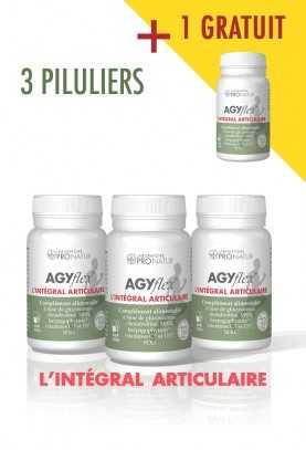 Lot de 3 + 1 Offert AGYflex® L'INTÉGRAL ARTICULAIRE