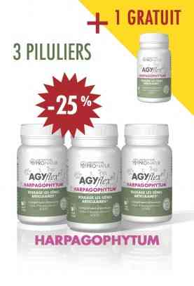 Lot de 3 + 1 GRATUIT AGYflex® HARPAGOPHYTUM