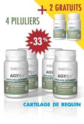 Lot de 4 + 2 GRATUITS AGYflex® CARTILAGE