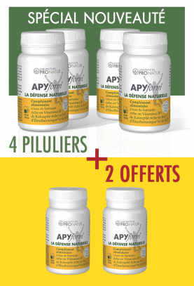 Lot de 4 + 2 GRATUITS APYform® LA DEFENSE NATURELLE en PROMO