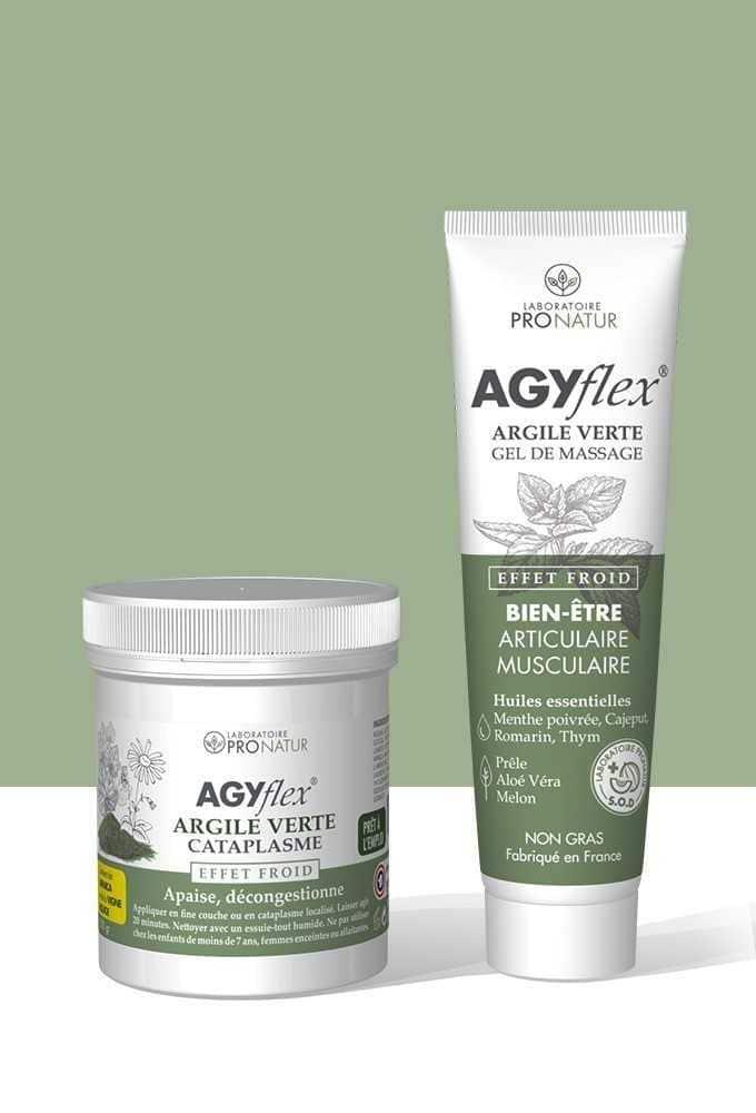AGYflex® DUO ARGILE VERTE