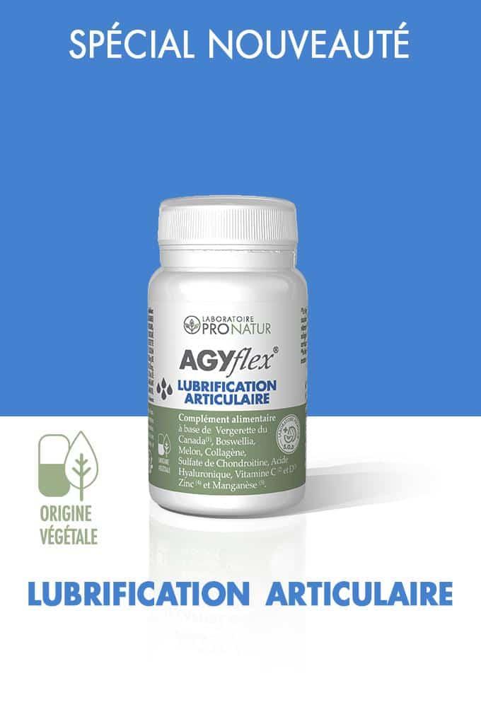 AGYflex® LUBRIFICATION ARTICULAIRE en promo