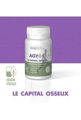 1 AGYflex® LE CAPITAL OSSEUX OFFERT D'UNE VALEUR DE 17 € !