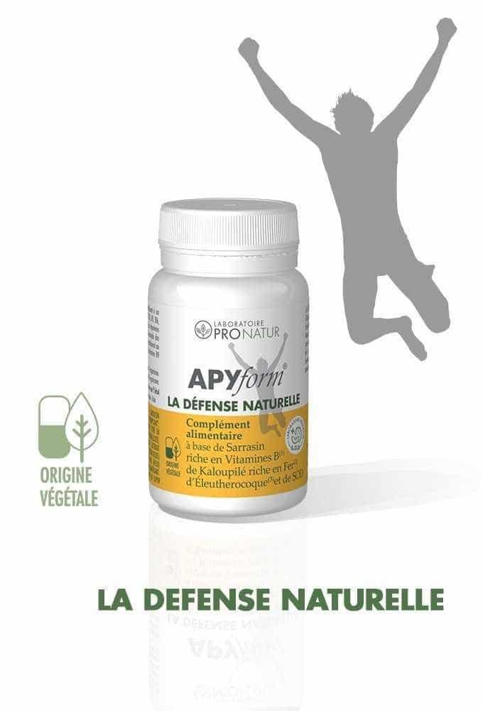1 APYform® LA DEFENSE NATURELLE OFFERT D'UNE VALEUR DE 22€ !