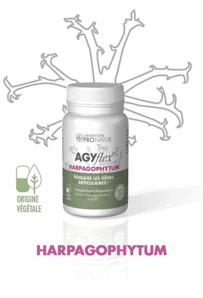 1 AGYflex® HARPAGOPHYTUM OFFERT D'UNE VALEUR DE 17€ !