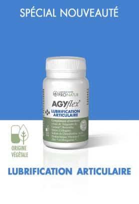 1 AGYflex® LUBRIFICATION ARTICULAIRE OFFERT D'UNE VALEUR DE 22€ !