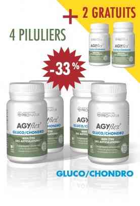 4 + 2 GRATUITS AGYflex® GLUCO/CHONDRO