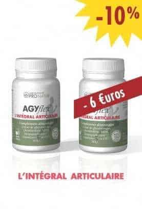 Lot de 2 AGYflex® L'INTÉGRAL ARTICULAIRE