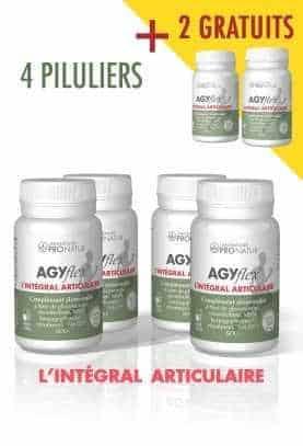 4 + 2 GRATUITS AGYflex® L'INTÉGRAL ARTICULAIRE - Soulagement et Régénération