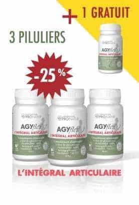 3 + 1 GRATUIT AGYflex® L'INTÉGRAL ARTICULAIRE - Soulagement et Régénération