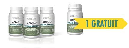 3 + 1 GRATUITS AGYflex® CARTILAGE DE REQUIN