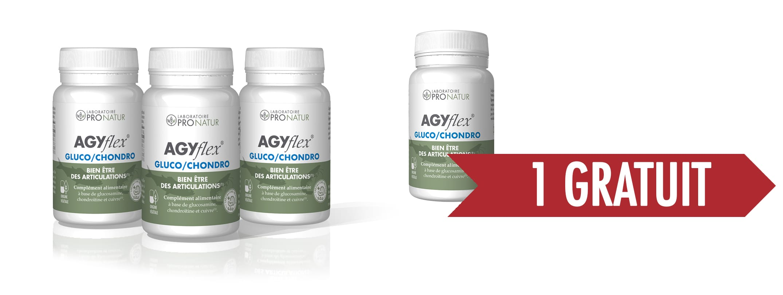 3 + 1 GRATUITS AGYflex® GLUCO/CHONDRO