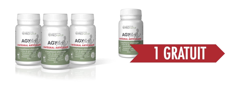 3+1 GRATUIT AGYflex® L'INTÉGRAL ARTICULAIRE