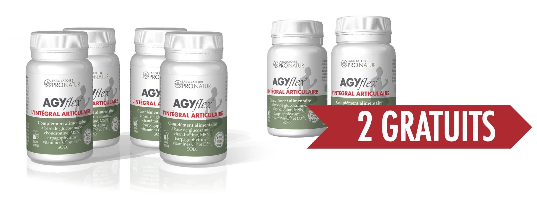 4+2 GRATUITS AGYflex® L'INTÉGRAL ARTICULAIRE
