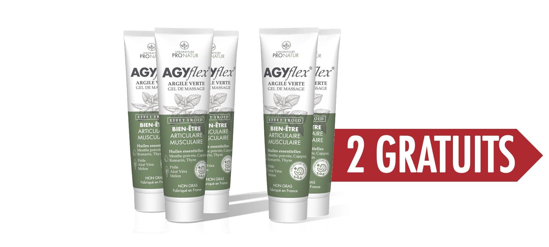 FORMULE PERFORMANCE AGYflex® ARGILE VERTE