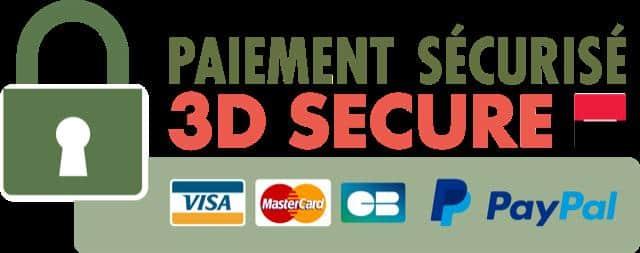 Paiement sécurisé 3D