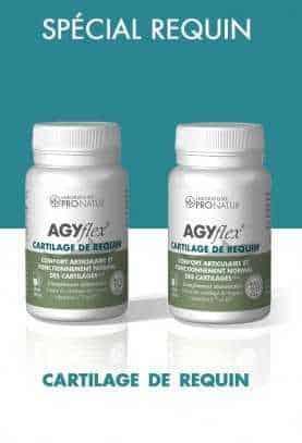 Lot de 2 AGYflex® CARTILAGE DE REQUIN