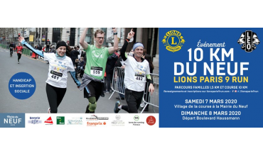 LIONS PARIS 9 RUN
